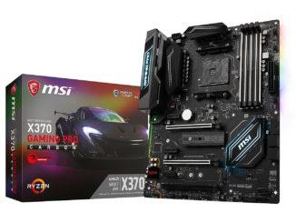 MSI X370 Gaming Pro Carbon