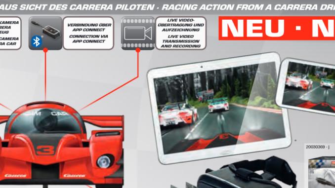 Carrera Neuheiten 2018 - mehr als nur ein Cam Car