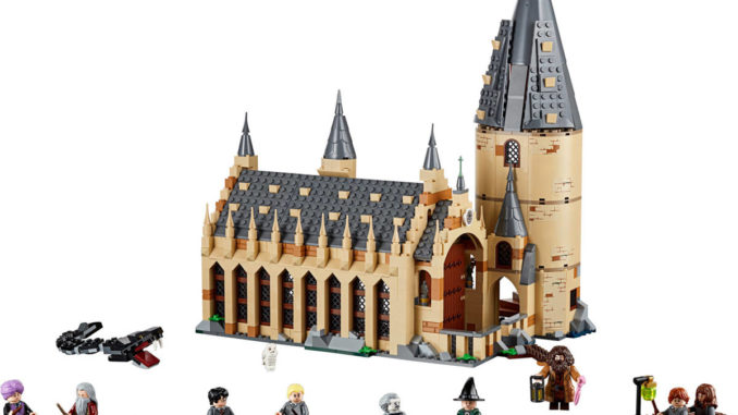 lego 75954 harry potter hogwarts great hall vorgestellt. Black Bedroom Furniture Sets. Home Design Ideas