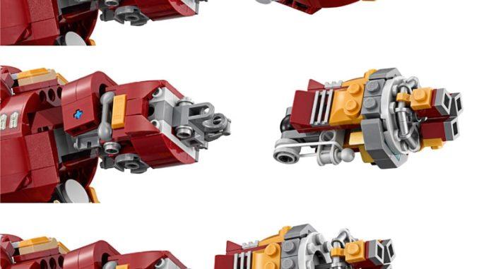 Arm auswechseln - Lego 76105