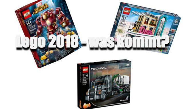 Lego 2018 - wo geht die Reise hin?