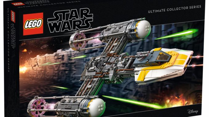 LEGO 75181 UCS Y-Wing Fighter Cover