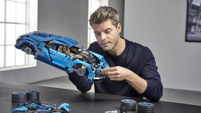 Lego 42083 Bugatti Chiron Aufbau bild