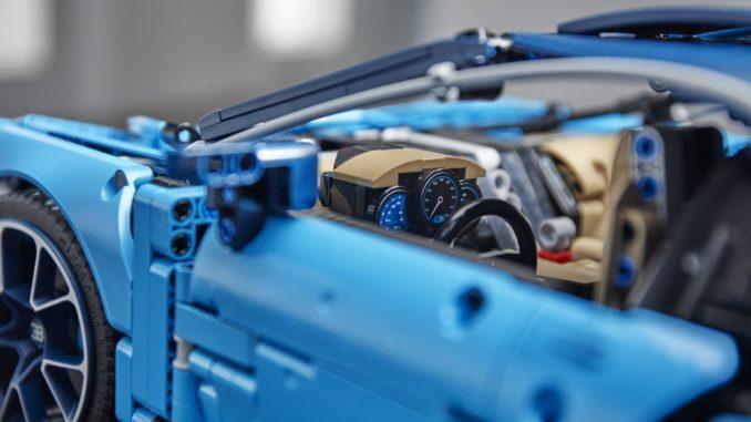 Lego 42083 Bugatti Chiron Detail Bild