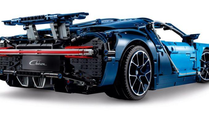 Lego 42083 Bugatti Chiron von hinten Bild