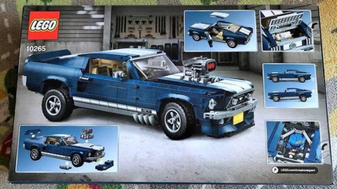 Lego 10265 - Ford Mustang vor Release?